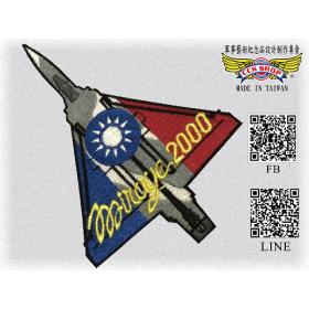 空軍幻象2000機型臂章